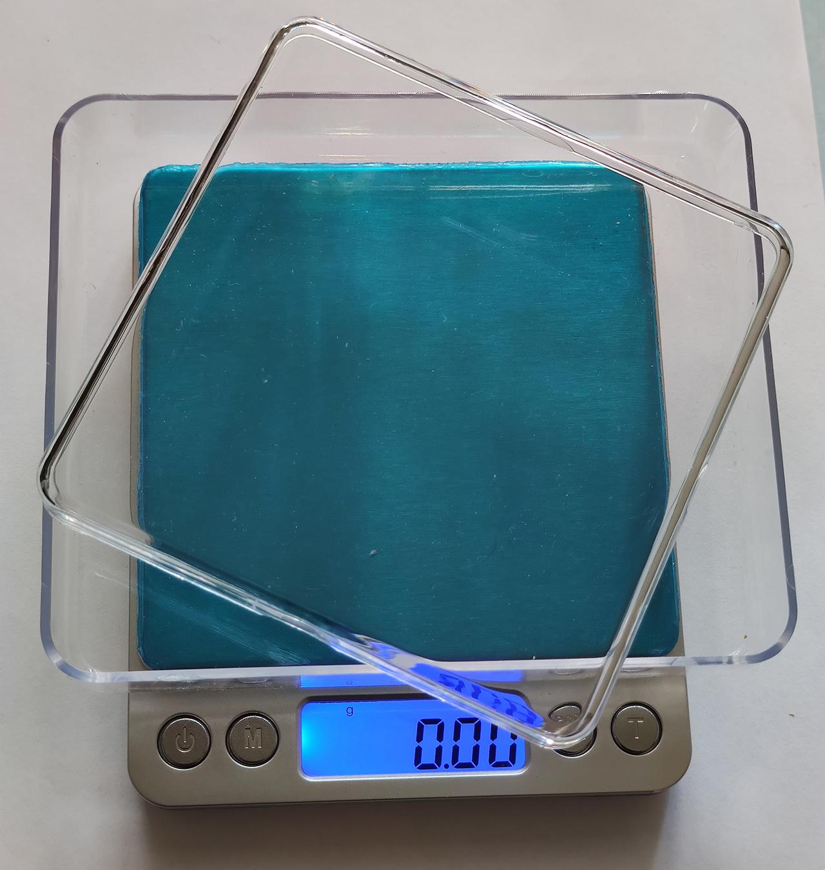 Весы ювелирные 500г (0.01г) +2 чаши +2 батарейки в комплекте